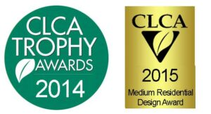 CLCA award logos 2014 and 2015