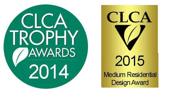 CLCA award logos 2014 and 2015
